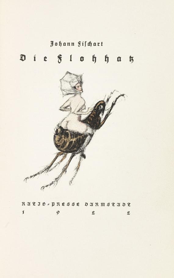 Johann Fischart - Die Flohhatz