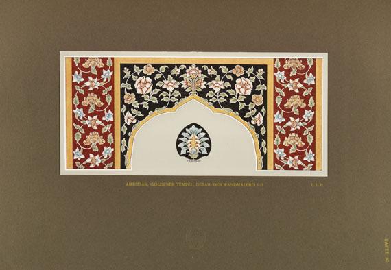 Emanuel La Roche - Indische Baukunst. 7 Bde.