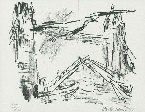 Oskar Kokoschka - Londoner Ansichten