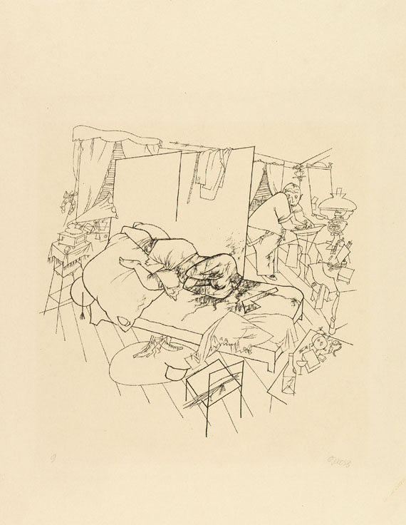 George Grosz - 2 Grafiken