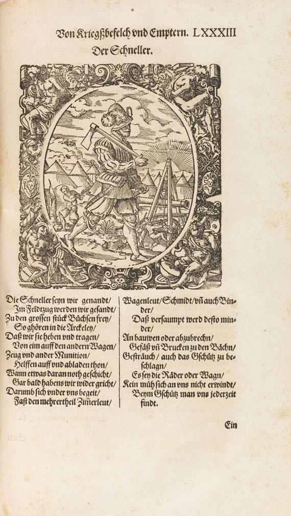Leonhard Fronsperger - Kriegsbuch. 1596 - Weitere Abbildung