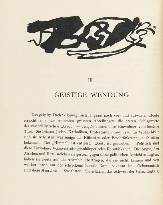Wassily Kandinsky - Über das Geistige in der Kunst.