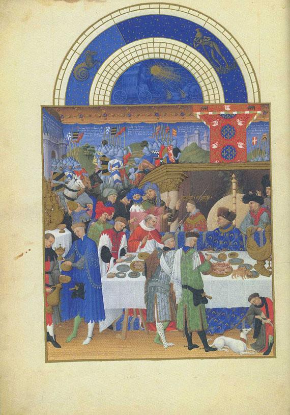 Duc de Berry - Trés riches heures du Duc de Berry. 2 Bde.