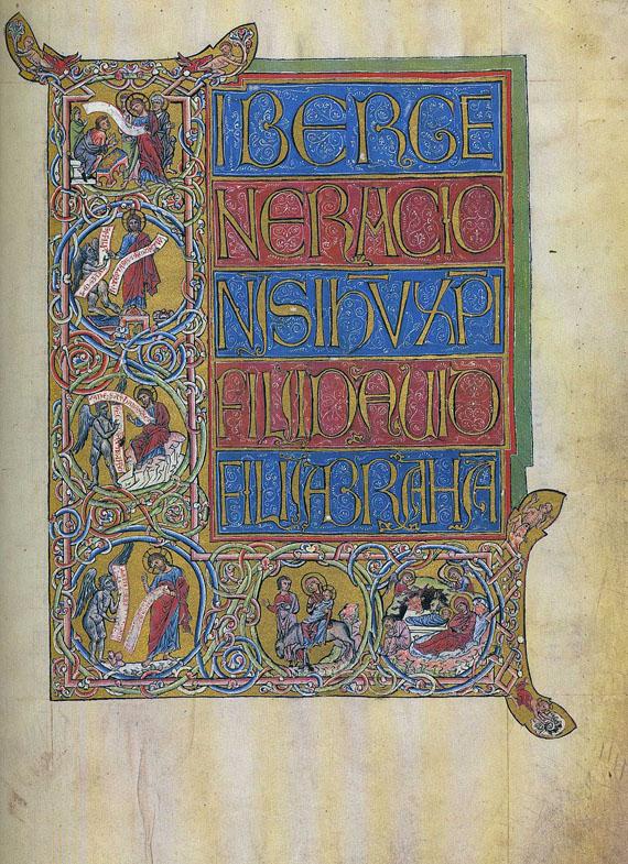 Goslarer Evangeliar - Goslarer Evangeliar. 2 Bde.