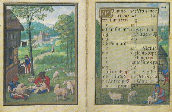 Simon Bening - Flämischer Kalender