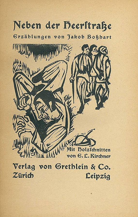 Ernst Ludwig Kirchner - Bosshart. Neben der Heerstraße