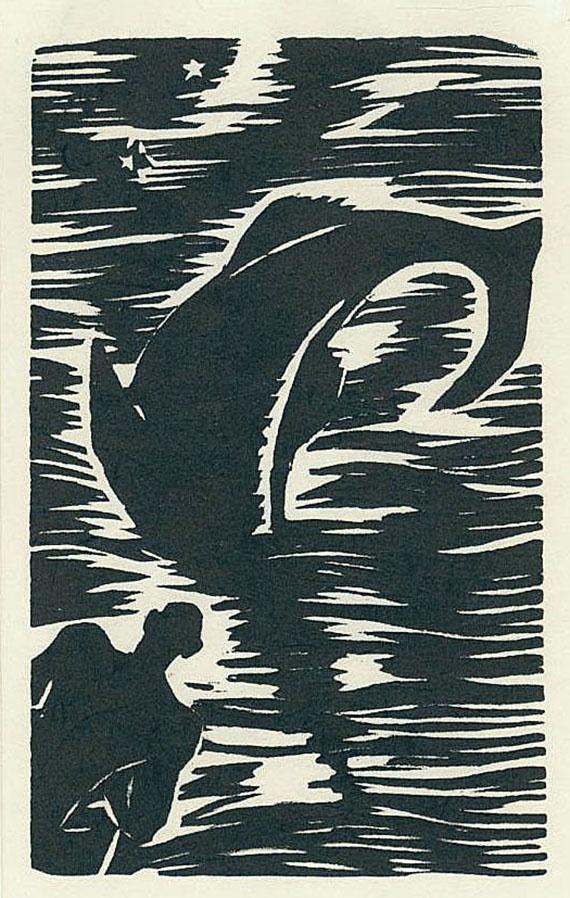 Frans Masereel - Hemingway. Der alte Mann und das Meer. 2 Bde.
