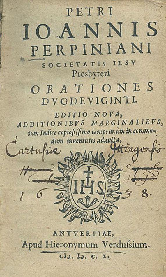 Petrus Johannes Perpinianus - Orationes duodeviginti