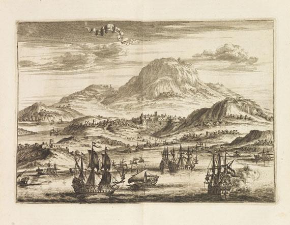 Jan Janszoon Struys - Denckwürdige Reysen. Dabei: Travel - Voyages, le Brun