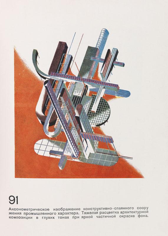 Jakow Georgijewitsch Chernikhov (Tschernichow) - Architektonische Fantasien