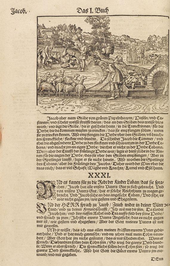 Biblia germanica - Biblia germanica. Wittenberg 1583 -