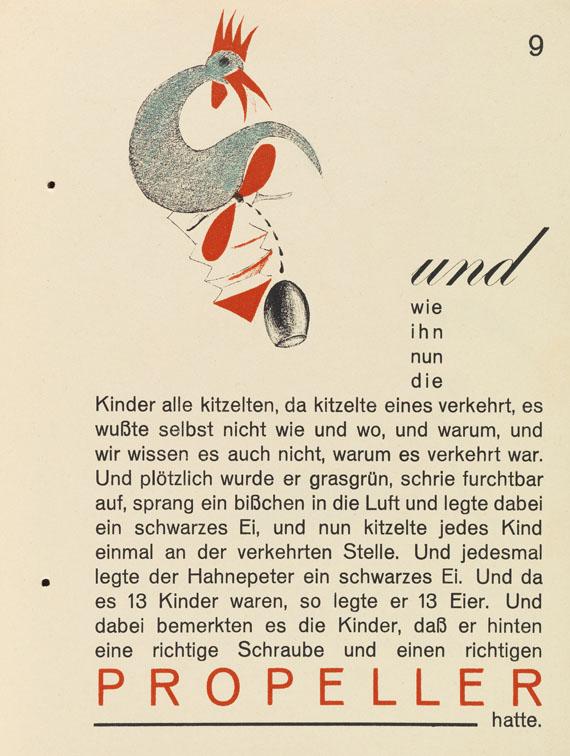 Kurt Schwitters - Hahne Peter - Weitere Abbildung