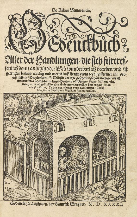 Francesco Petrarca - De Rebus Memorandis