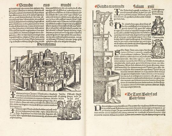 Hartmann Schedel - Liber chronicarum. Augsburg 1497 - Weitere Abbildung