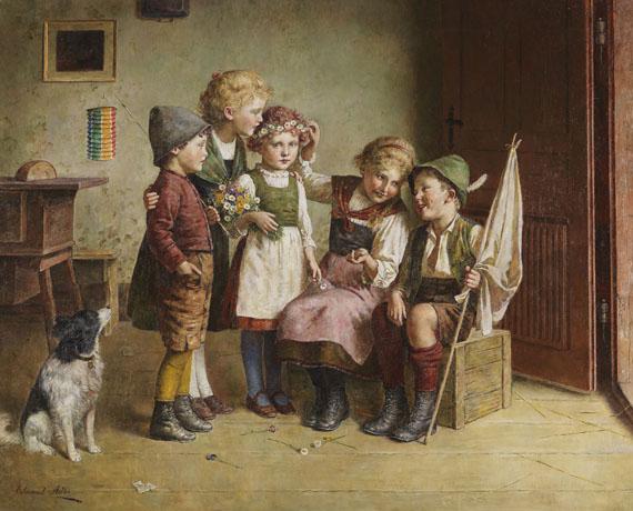 Edmund Adler - Das Blumenkränzchen