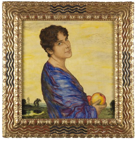 Franz von Stuck - Porträt Frau von Stuck -