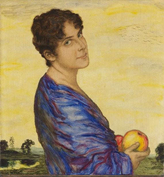 Franz von Stuck - Porträt Frau von Stuck