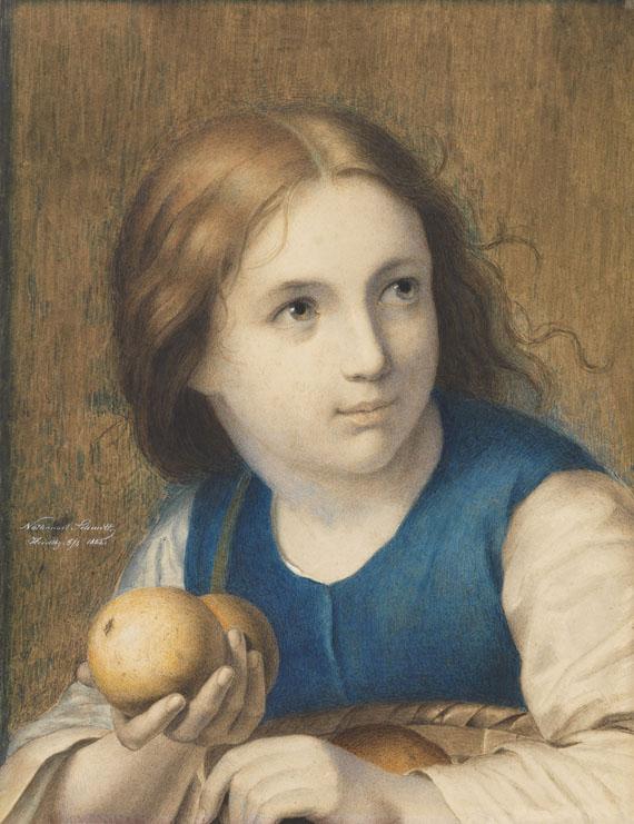 Nathanael Schmitt - Die kleine Apfelverkäuferin