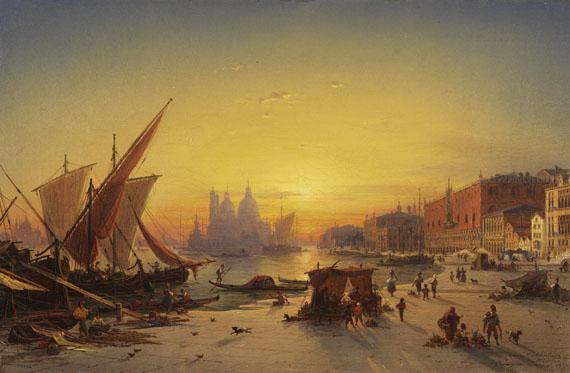 Ludwig Mecklenburg - Venedig im Abendlicht