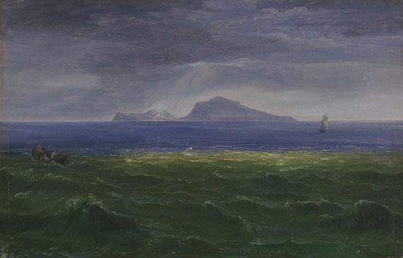 Florian Grospietsch - Kleine Marine mit Blick auf Capri
