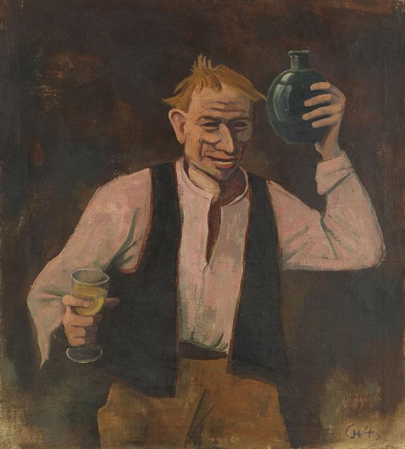 Karl Hofer - Der Trinker