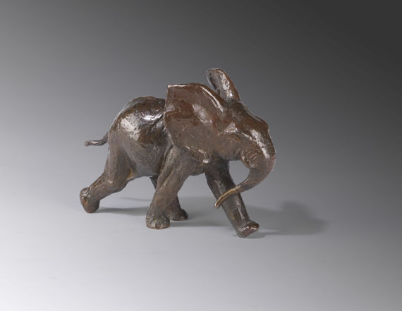 Renée Sintenis - Laufender Elefant (Afrikanischer Elefant)