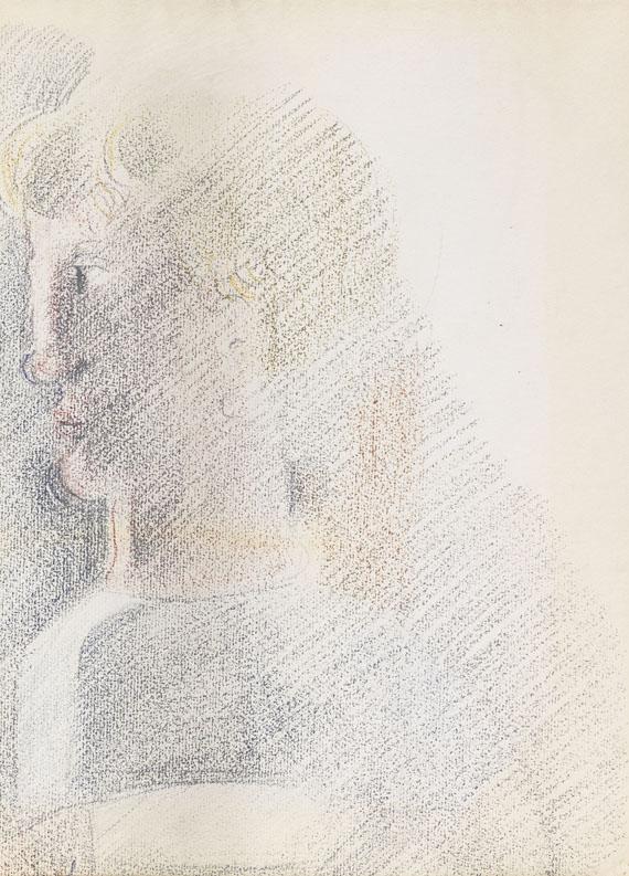 Oskar Schlemmer - Kopf im Profil