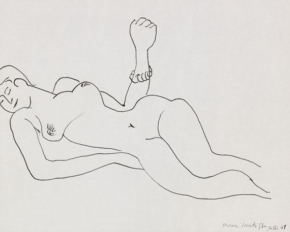 Henri Matisse - Akt