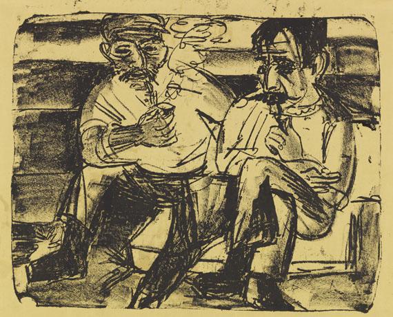 Ernst Ludwig Kirchner - Zwei Bauern