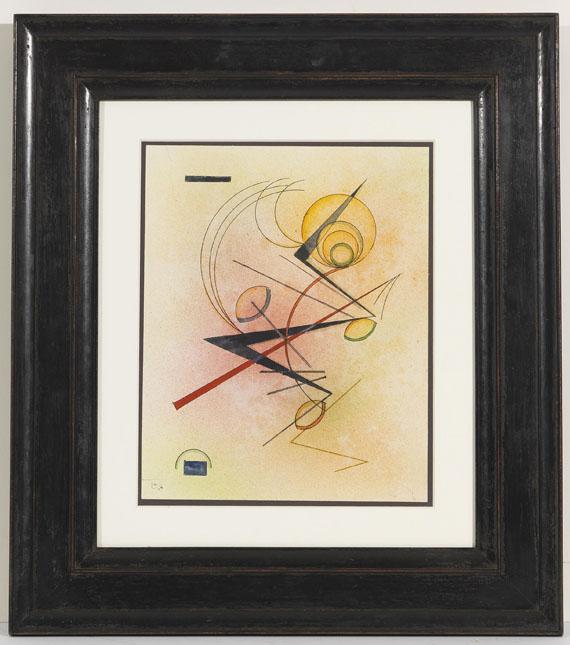Wassily Kandinsky - Kleines Warm - Rahmenbild