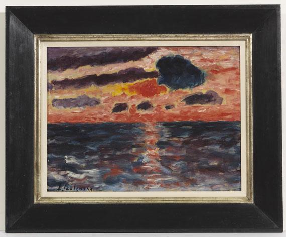 Alexej von Jawlensky - Sonnenuntergang, Borkum - Frame image