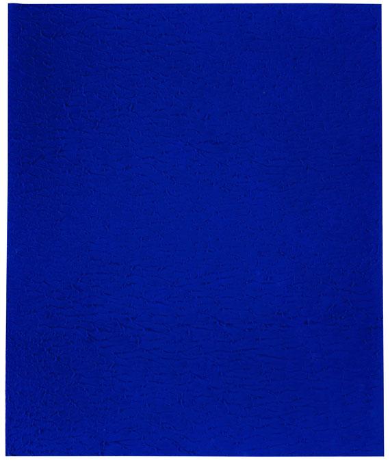 Yves Klein - Monochrome bleu (IKB 262)