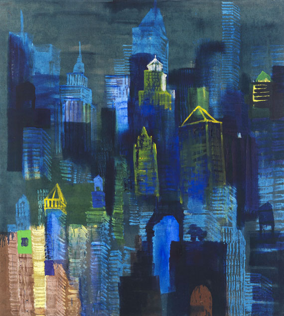 Rainer Fetting - Imagine New York