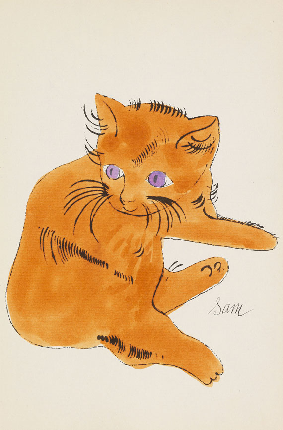 Andy Warhol - 25 Cats name[d] Sam and one Blue Pussy - Weitere Abbildung