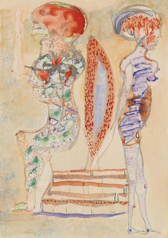 Gerhard Altenbourg - Wackel mit den Beinchen - Weitere Abbildung