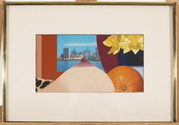 Tom Wesselmann - Bedroom Collage - Rahmenbild