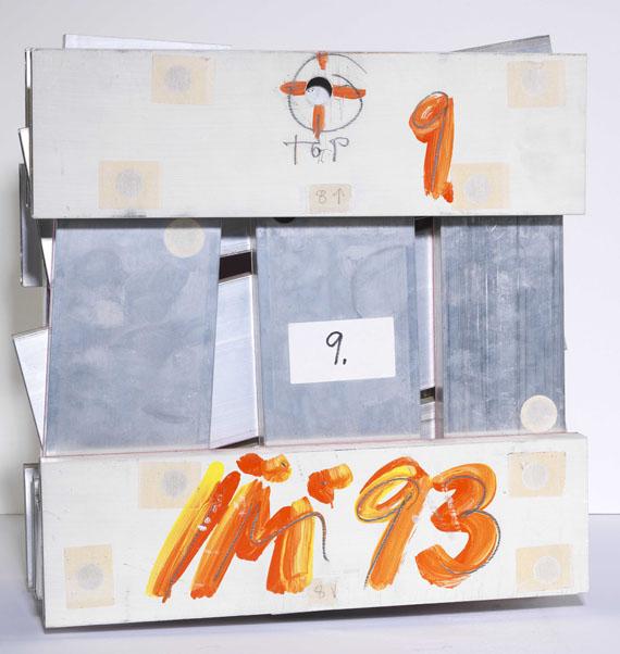 Imi Knoebel - 17 Farben 20 Stäbe A - Back side