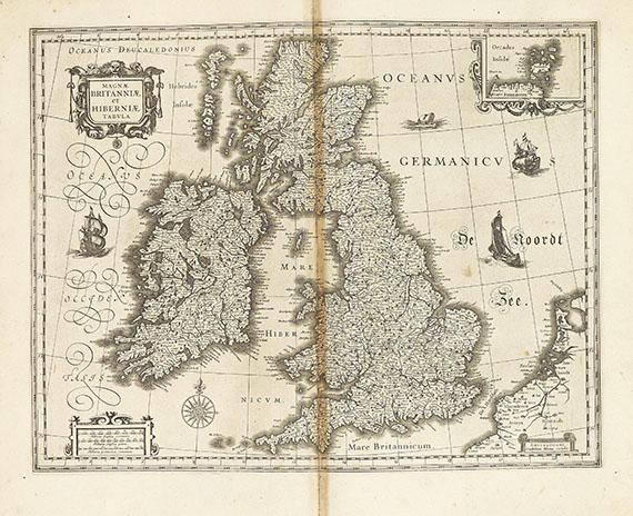 Atlanten - Blaeu, J., Novus Atlas. Tl. 4