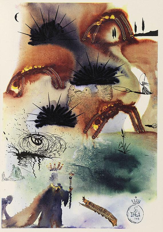 Salvador Dalí - Carroll - Alice's Adventures in Wonderland - Weitere Abbildung