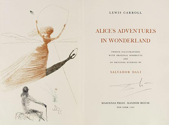 Salvador Dalí - Carroll - Alice's Adventures in Wonderland
