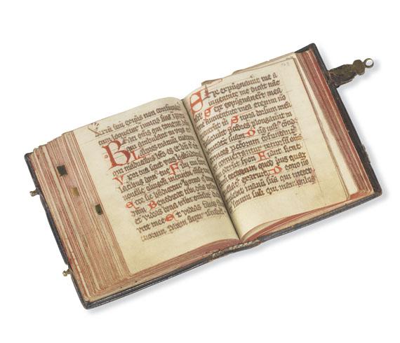 Manuskripte - Liturgische Handschrift mit Noten. Um 1500