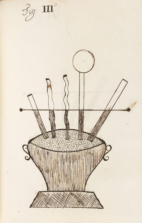 Manuskript - Handschrift Astronomie, Physik, Mathematik. 5 Bde.