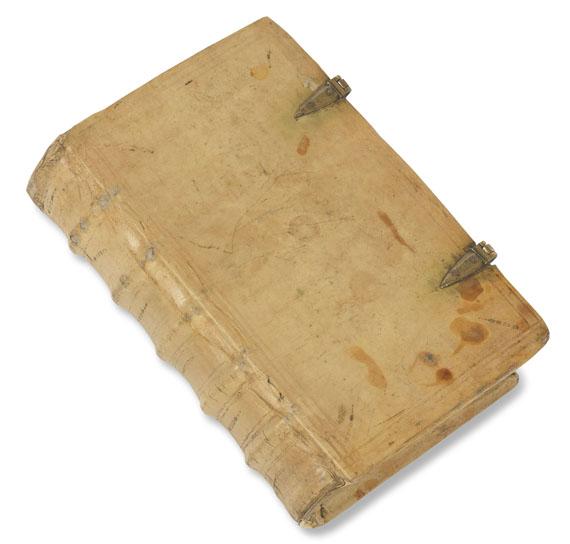 Manuskript - Psalterium feriatum. Pgt.-Manuskript 15. Jh. -