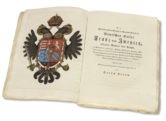 Spalowsky - Beytrag zur Naturgeschichte der vierfüssigen Thiere. 2 Bde.