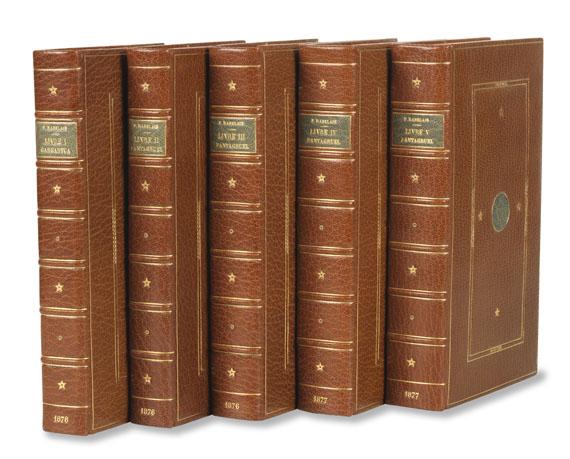 François Rabelais - Les cinq livres de F. Rabelais
