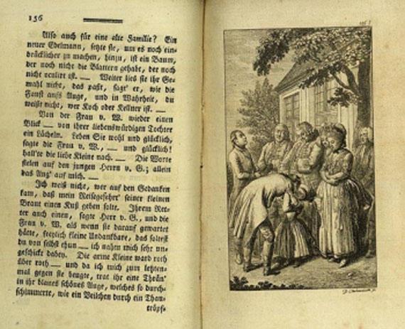 Theodor G. von Hippel - Lebensläufe nach aufsteigender Linie. 3 Tle. in 4 Bdn.