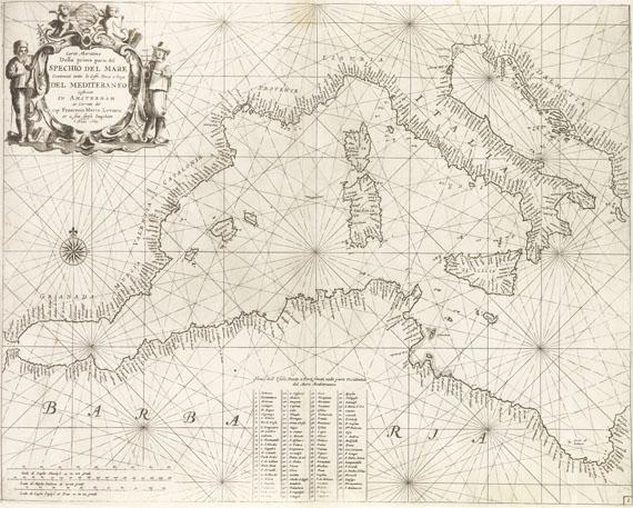 Atlanten - Levanto, Prima Parte dello Specchio del Mare
