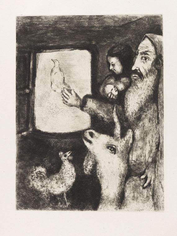 Marc Chagall - Bible. 2 Bde. - Weitere Abbildung