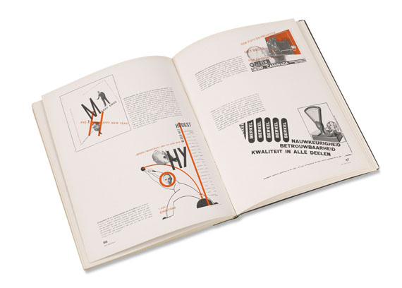 - Gefesselter Blick. 25 kurze Monographien u. Beiträge über neue Werbegestaltung - Weitere Abbildung
