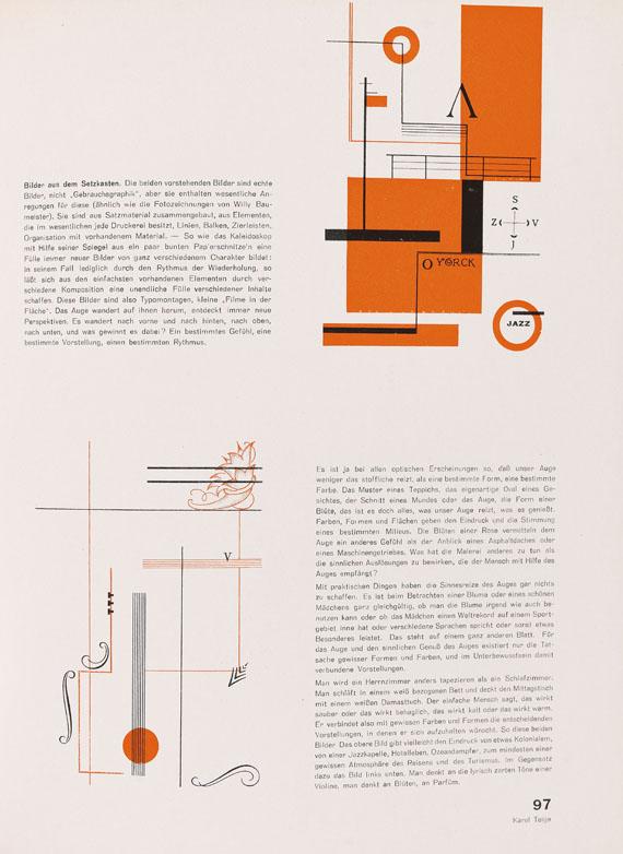 Gefesselter Blick - Gefesselter Blick. 25 kurze Monographien u. Beiträge über neue Werbegestaltung